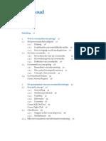 Inhoudsopgave Basisboek-crossmedia Concept
