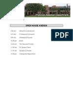 PA Program Packet