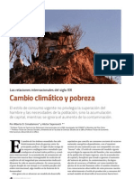 Equidad Desarrollo y Cambio Climatico
