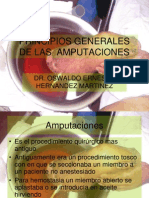 20- Principios Generales de Amputaciones