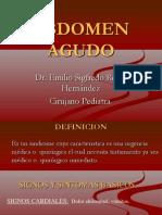 21- Abdomen Agudo en Pediatria