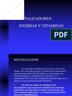 Enzimas y Vitaminas
