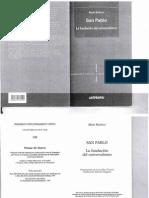 San Pablo La Fundacion Del Universalismo Alain Badiou
