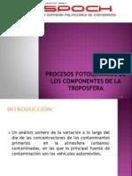 Procesos Fotoquimicos de Los Componentes de La Trposfera 1 (1)