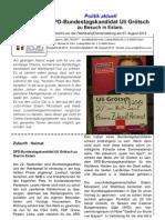 DEEZ - Sonderausgabe - 08.2013 - Besuch des SPD-Bundestagskandidaten Grötsch in Eslarn
