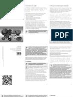 WEG Motores Eletricos de Baixa e Alta Tensao Manual de Instalacao Operacao e Manutencao 50031070 Manual Portugues Br