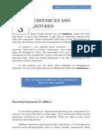 Qtr 1 Module 3 Substances & Mixtures