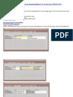 Resctict LOV Form Personalization