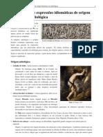 Anexo-Lista de expressões idiomáticas de origem histórica ou mitológica