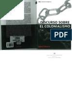 Discurso Sobre El Colonialismo Aime Cesaire