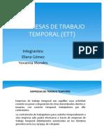 Empresas de Trabajo Temporal (Ett)