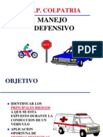 MANEJO DEFENSIVO 11