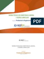 Norma Tecnica y Diseño Curricular-Tecnico productor_organico