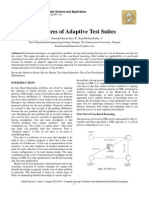 Features of Adaptive Test Suites