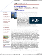 Opening Up Library Automation Software -- Breeding, Marshall [Library