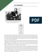 List of 1930s Jazz Standards