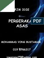 Pergerakan Asas Pjm 3102b t1