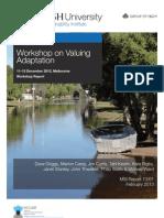 Valuing Adaptation