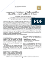 Design a New Architecure of Audio Amplifiers Class-D for a Hardware Mobile Systems