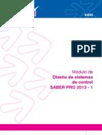Modulo de diseño de sistemas de control 2013-1