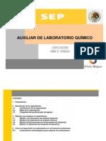 Auxiliar de Laboratorio Quimico
