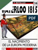 038.WATERLOO. 1815