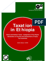 Taxation in Ethiopia[1]