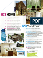 Grand Designs magazine Crossway Diary Pages