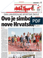 Školski šport 27.5.2009.