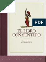El libro con sentido (portada, primeras páginas y contra)