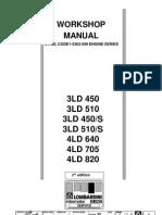 Lombardini 3 & 4LD Shop Manual