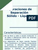 SEPARACION SOLIDO-LIQUIDO