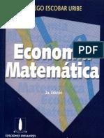 Economía Matematica - Diego Escobar Uribe - 2 ed.pdf