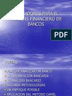 Análisis Bancos