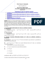 Ecuaciones Circuitos Rcl