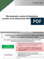 2- Introduccion Movimento Contra Abandono Escolar EMS
