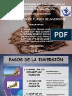 Exposicion Realizacion de Planes de Inversion