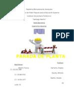 Parada de Planta