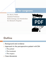 Diabetes for Surgeons