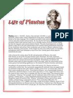 Life of Plautus