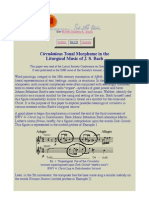 Circulatio as Tonal Morpheme in Liturgical Music of J. S. Bach
