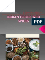 Indian Foods With Spices