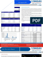 Derivative 08 August 2013  By Mansukh Investment and Trading Solution