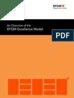 Overview EFQM 2013