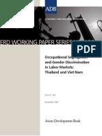 Occupational Segregation and Gender Discrimination in Labor Markets