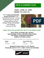 Arts and Garden Flyer