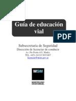 Guía de educación vial