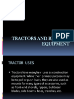 Tractors and Related Equipment