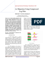 Improved Live Migration Using Compressed