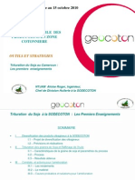 Presentation NTJAM Sodecoton Trituration Soja